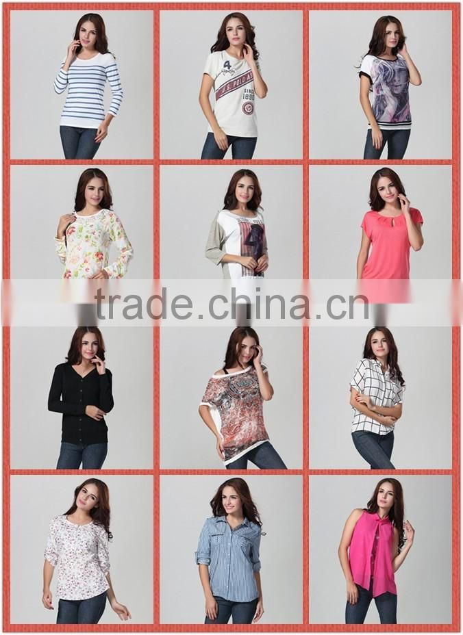 new style fashion woman t-shirt