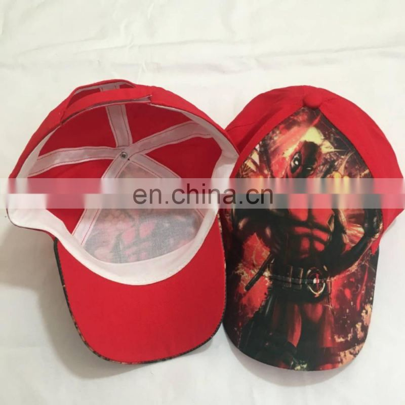 sublimation transfer printing protection baseball caps