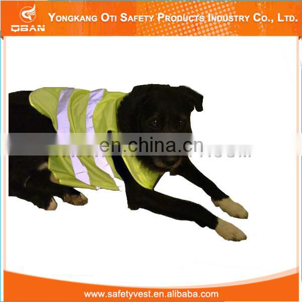Hot selling safety high visibility custom hunting vest dog