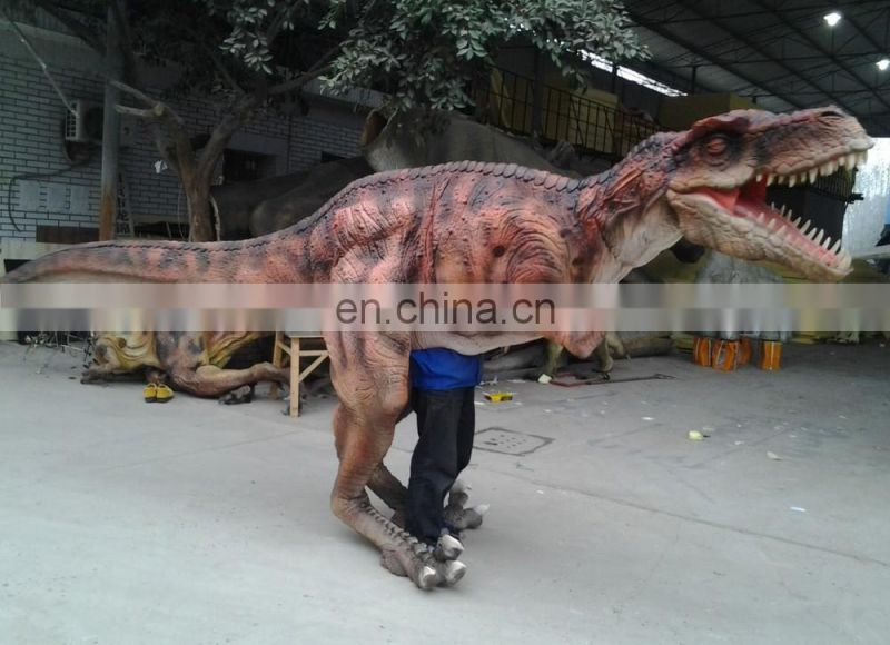2016 Adult Walking dinosaur costume for jurassic park