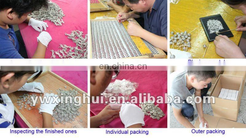 wholesale Beautiful high-quality antique bronze flower snap button jewelry