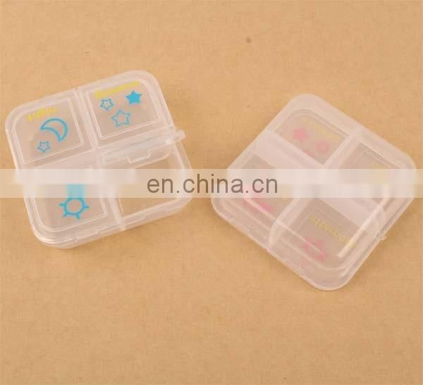 7 Day Pill box Plastic Pill Box Case Container Weekly Organizer