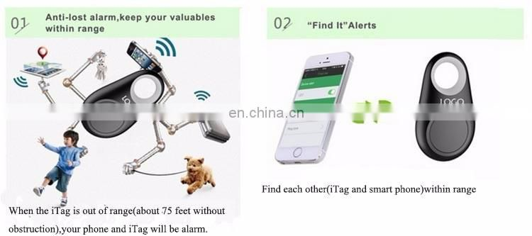 Smart blue tooth Tracker Anti Lost Alarm Key Finder Child Elderly Pet Phone Lost Reminder Baby Key Tracker Finder