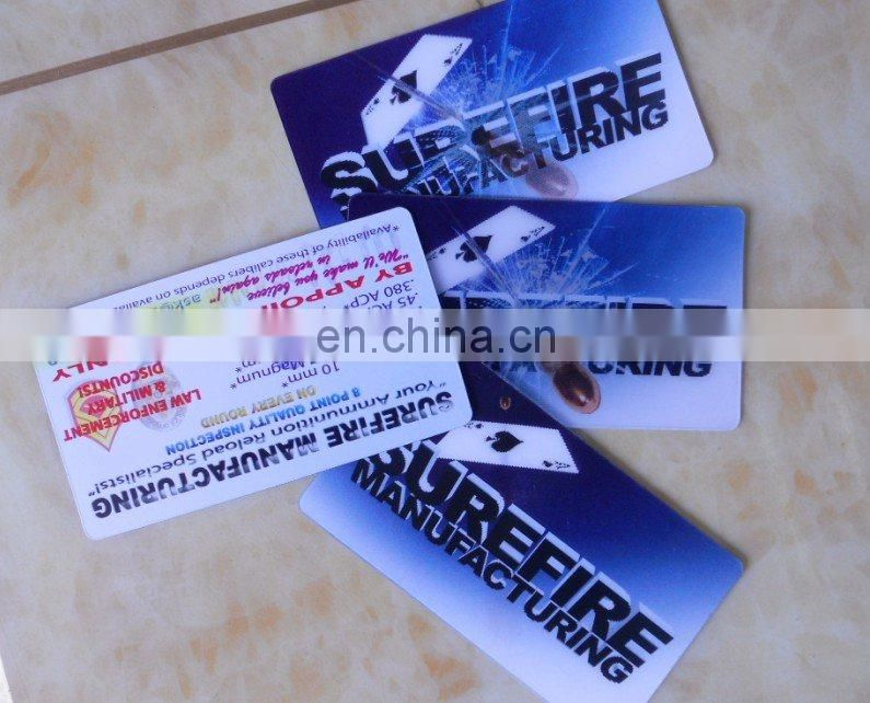 Pet 3d Lenticular Business Card For 2 Pictures Of 3d Lenticular