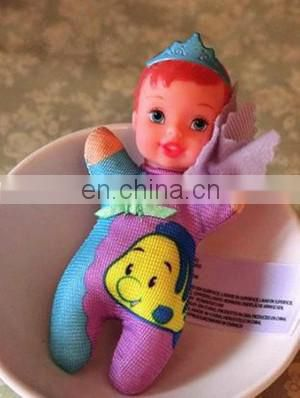 mini plush plastic doll beautiful girl doll princess play house accessories