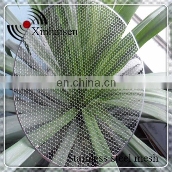 Custom photo chemical etching stainless steel filter mesh plates