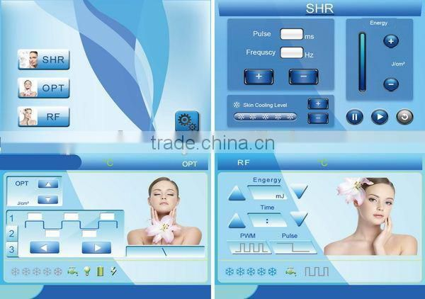 Lifting facial ipl instrumento