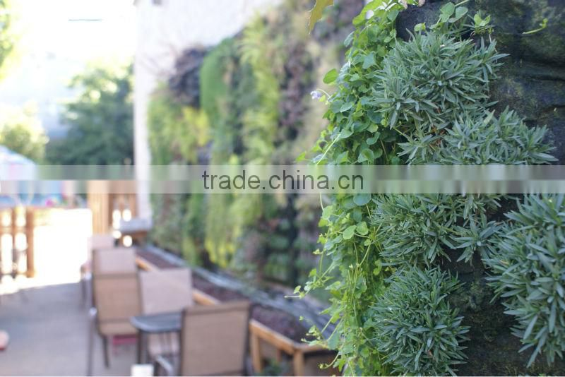 factory price new designed high quality artificial plant wall/plastic garden walls vertical wall garden