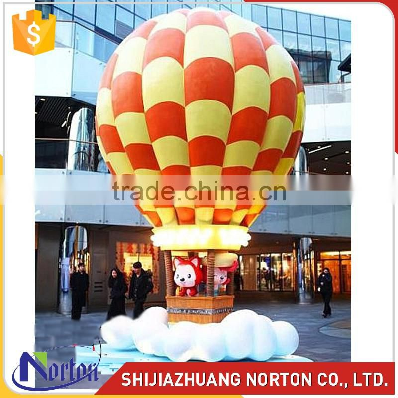 Large fiberglass balloon sculpture for market decor NTRS-070LI