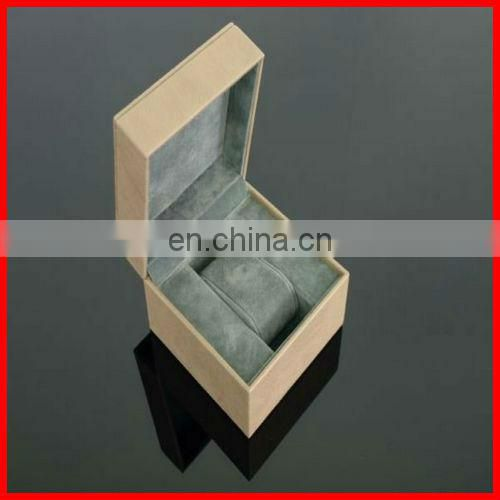 Luxury square paper box for men's watch with shiny diamond
