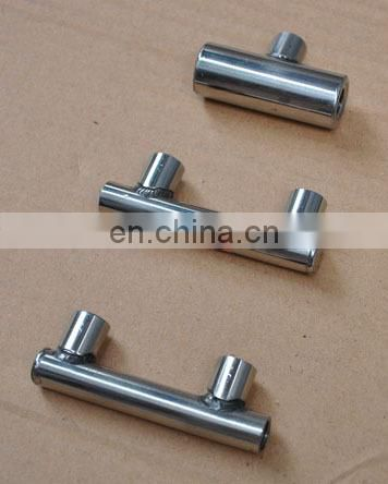 OEM fabrication from foshan factory stainless steel tee spray bar bentley bracket
