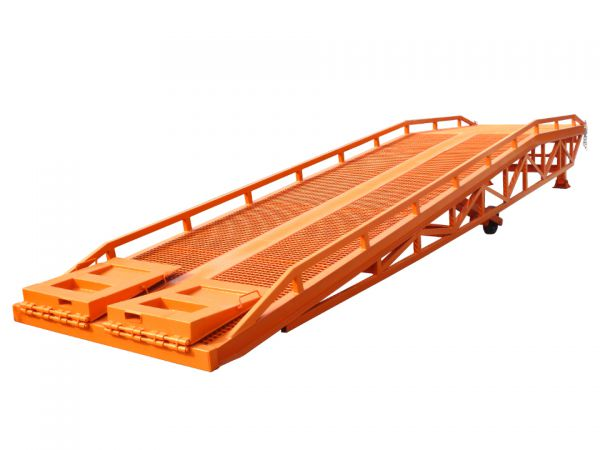 Hydraulic Ramp Platform Anti Skid Thick Plateform Mobile Forklift Ramp Image