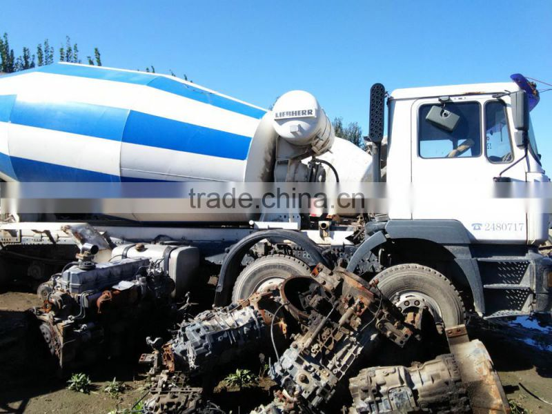 95f0341d46 ... Used MB Model 2628 Cargo Truck Front Half Cut  Germany Original Spare  Parts For Sale