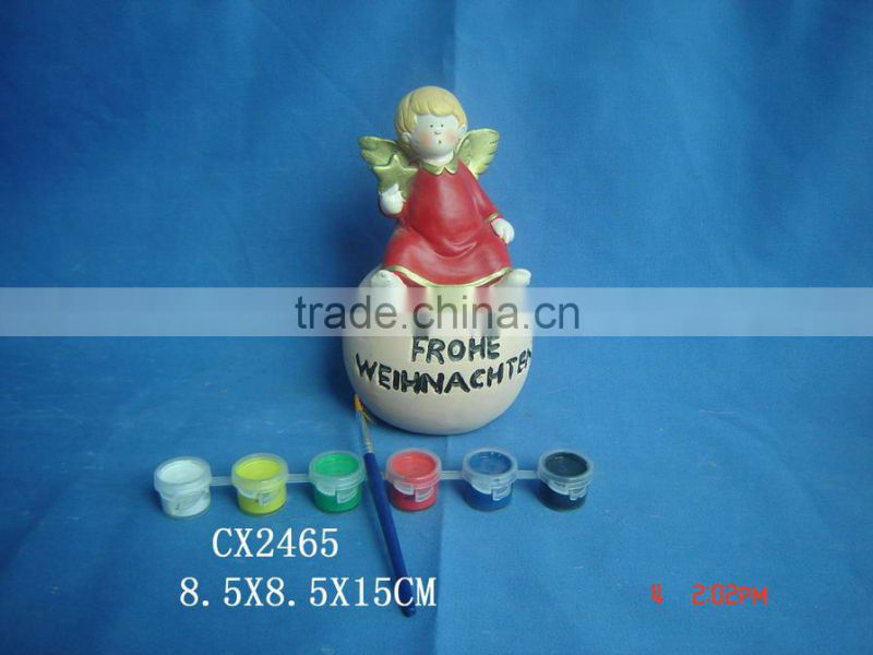 Ceramic Gnome for Garden-custom garden gnomes-terra cotta gnomes-porcelain paint Gnomes