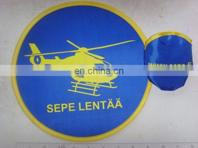 Sport flying frisbee type soft flexible frisbee