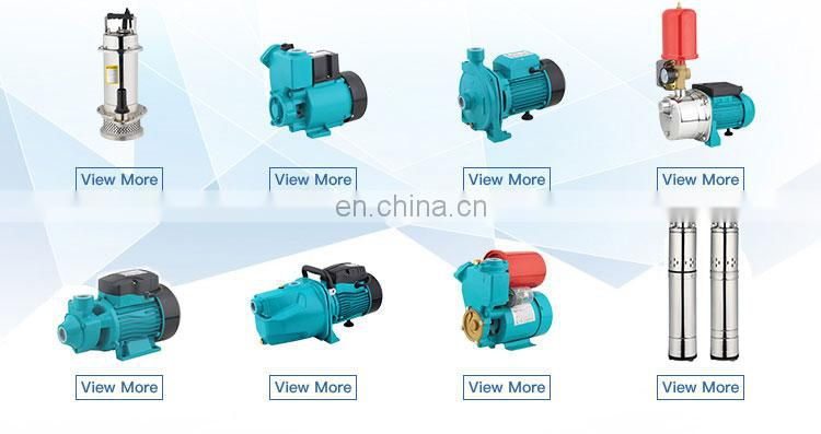 high flow high pressure electric centrifugal pump 2hp clean water pump