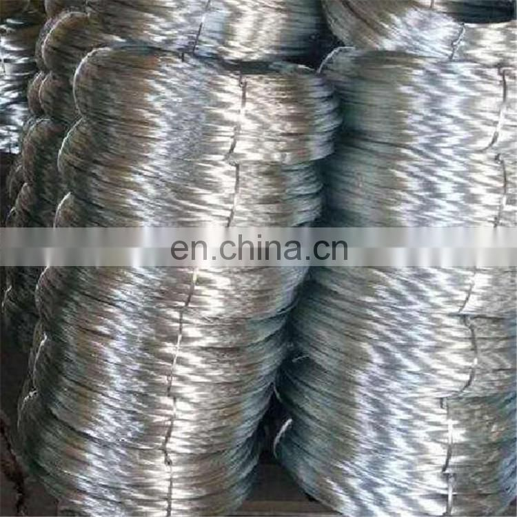 Hot dipped low carbon galvanized wire for construction