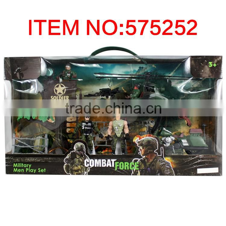 Good sale plastic soldier military toys play set