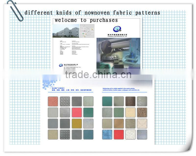 nonwoven machines such as calender making machine
