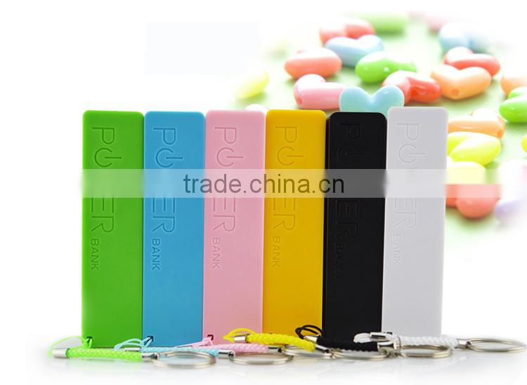 2015 promotion gift perfume power bank 2600mAh usb power bank in best price