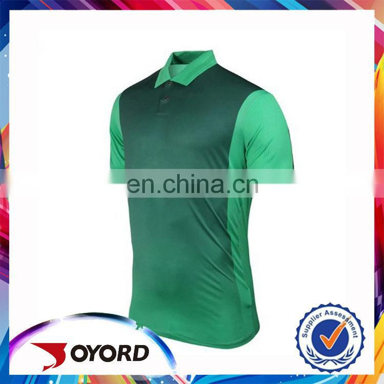 Wholesale custom zipper polo shirt plain golf wear