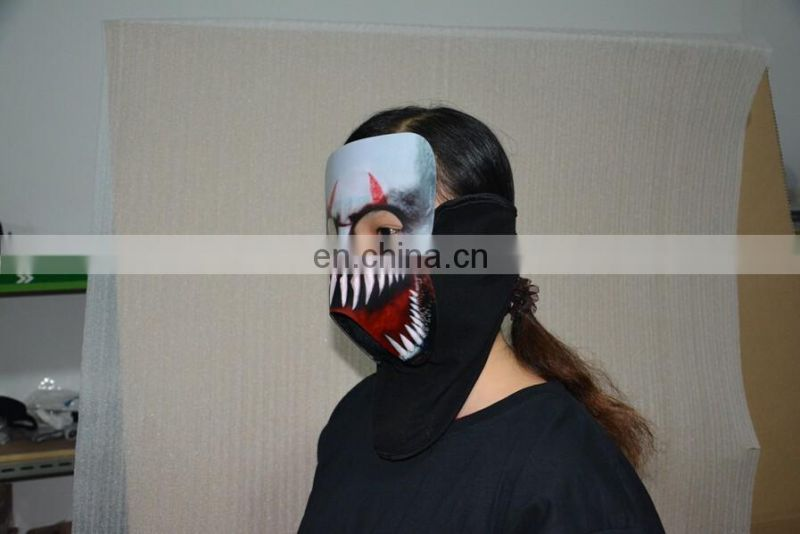 Cold Light Glowing Mask Voice Control Hallowmas Facial Mask