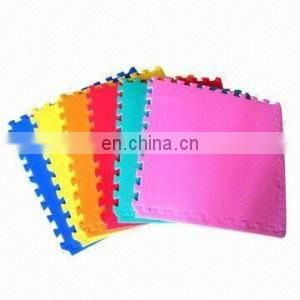 Factory price color of the self adhesive glitter eva foam sheets