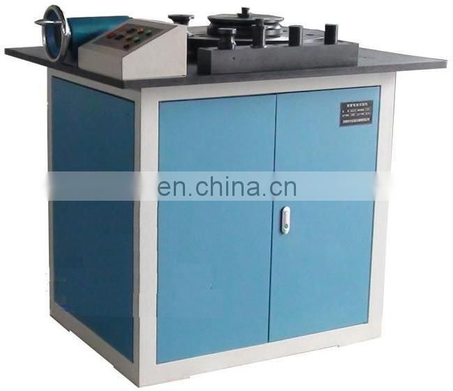 GW-40E steel bar/rebar Hydraulic Reverse Bending Testing machine for process plane rebend test of steel bar