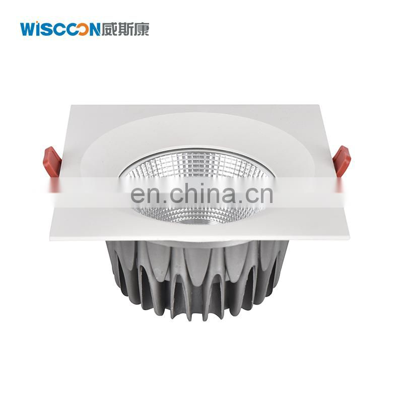 High quality Aluminum Alloy Lamp Body led down light super brightness LED Light Source LED downlight
