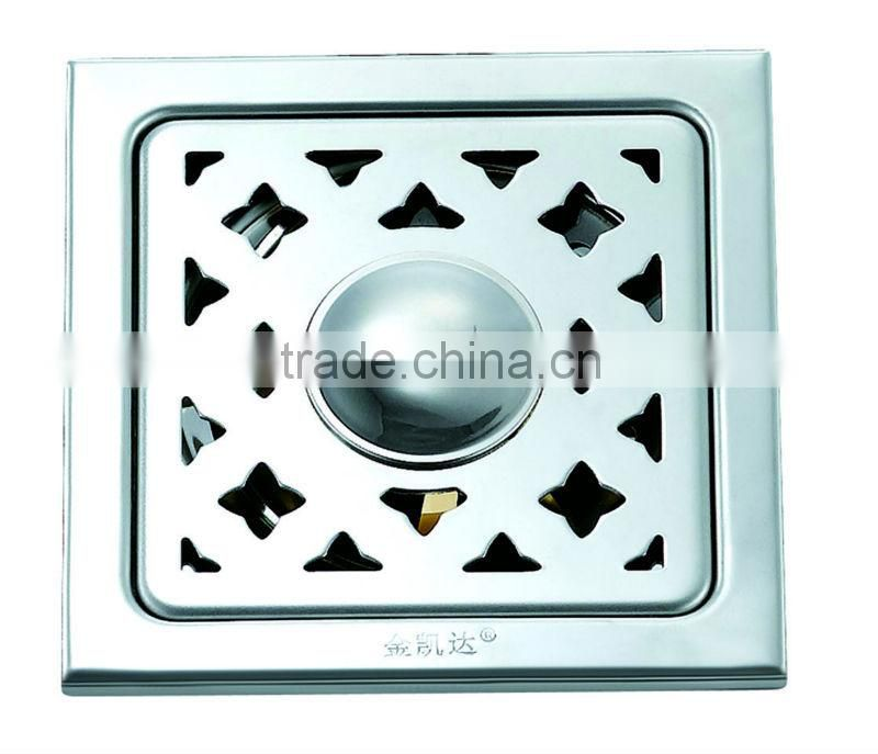 Stainless Steel Square Floor Drain B1812-1