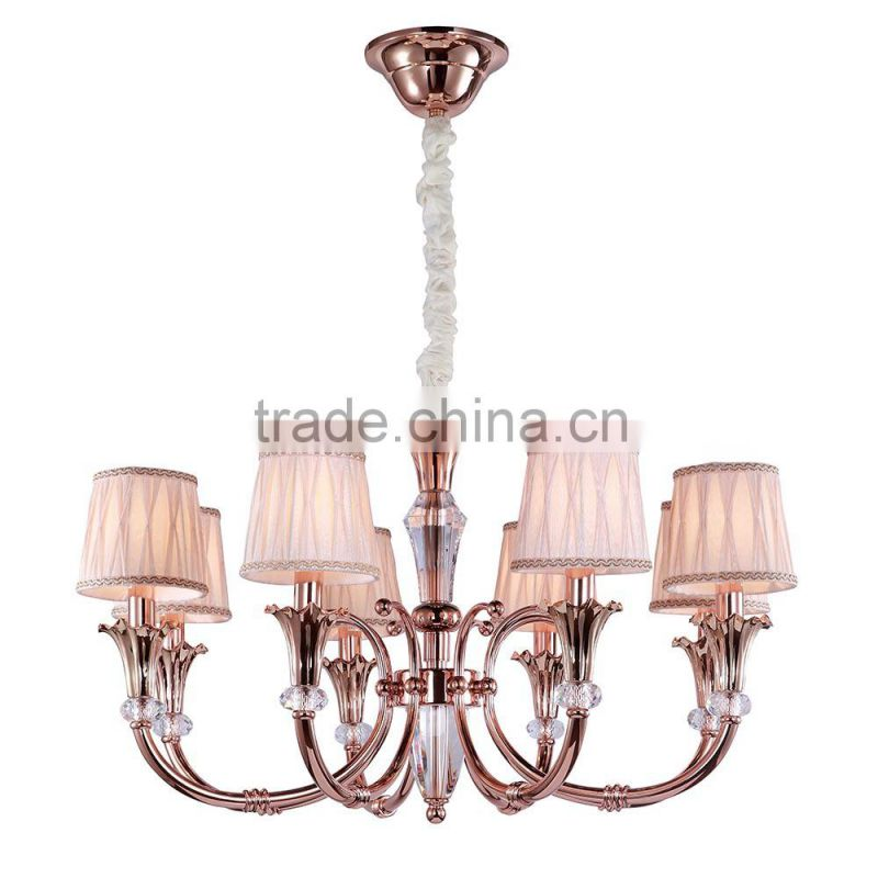 2015 zhongshan hot selling hand blown glass chandelier