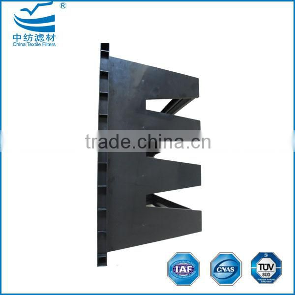 F7~H14 pleated HEPA filters with V-cell frame