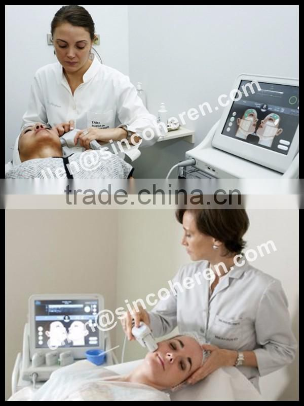 Professional training in Germany body slimming machine skin lightening HIFU machine