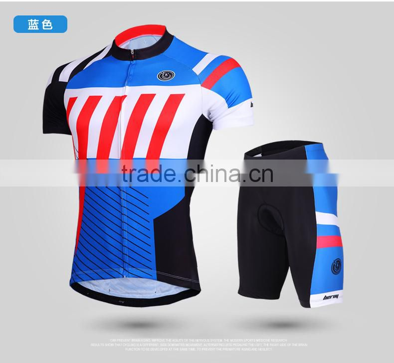 BEROY Newest Super Wicking Biking Jersey, Rock Cycling Shorts and Tops