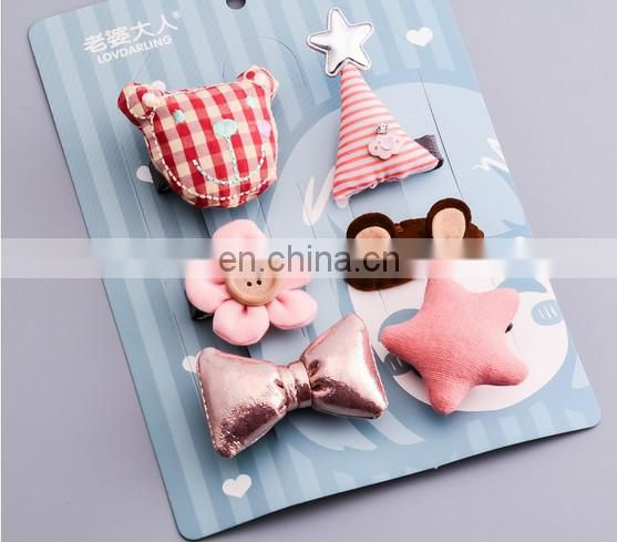 Baby Tiny Hair Bow Clippie Cute Animal Hair Clips For Baby Birthday Party Favors