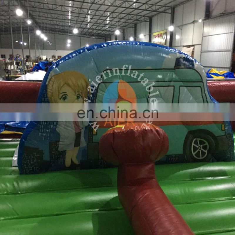 inflatable Rescue-Squad funland,inflatable bouncing slide,indoor inflatable slides