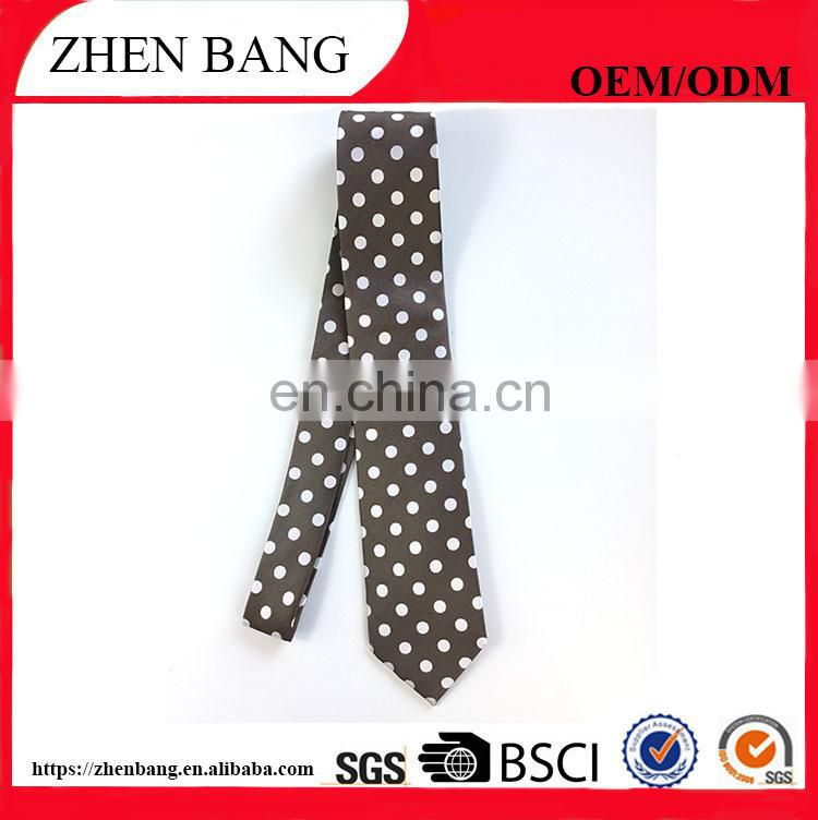 Factory Custom Newest Printed and Woven Men silk Neck tie