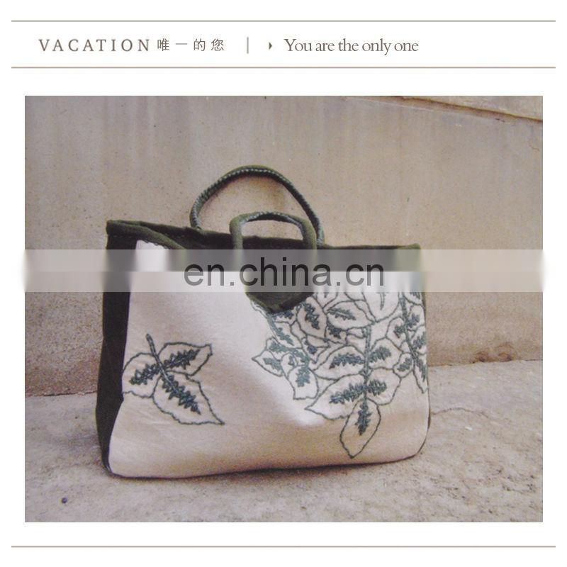 Big compartment shopping canvas bag brand