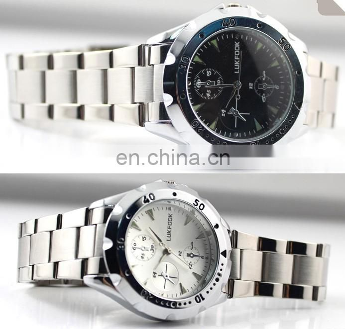 hot sale high quality Quartz stainless steel couple lovers watches