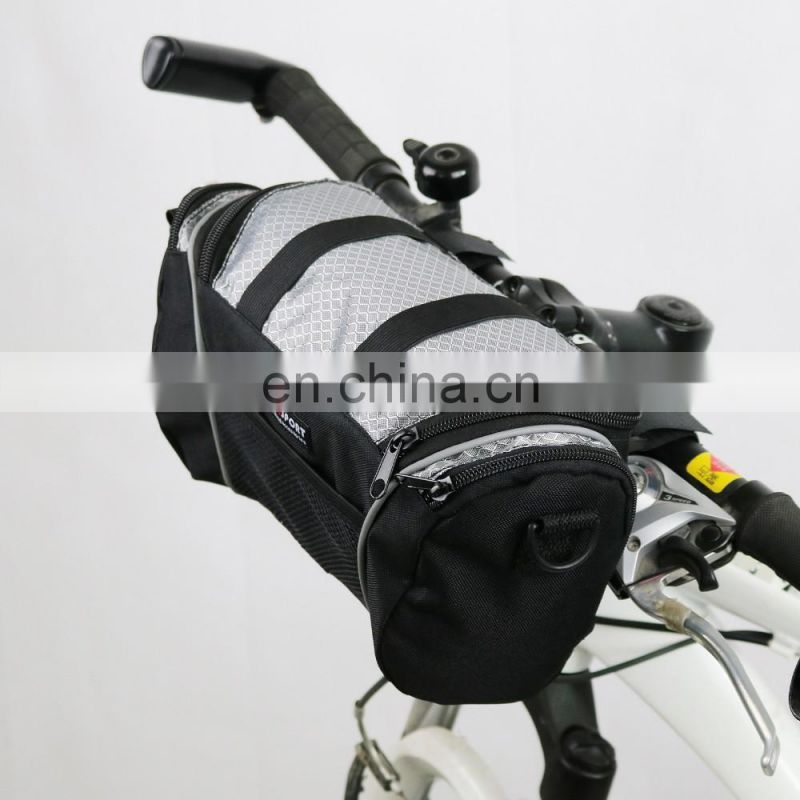 Cycling Bike Bicycle Phone Pannier Holder Front Frame Tube Bag Small/bike bag