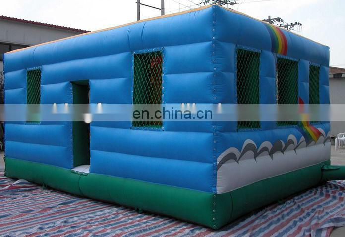 8M Lgihted inflatable night cube for party