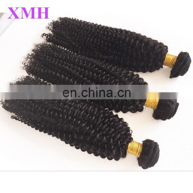 Unprocessed 100% Brazilian Afro kinky curly hair grade 8a natural virgin human hair
