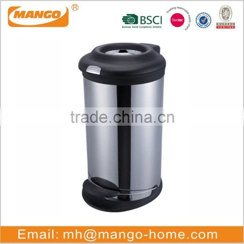 Stainless Steel Ashtray Ash Bin/Rubbish Bin/Waste Bin