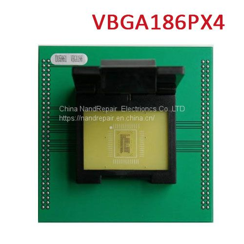 Smartphones VBGA186 Adapter VBGA186P Socket For UP828P Image