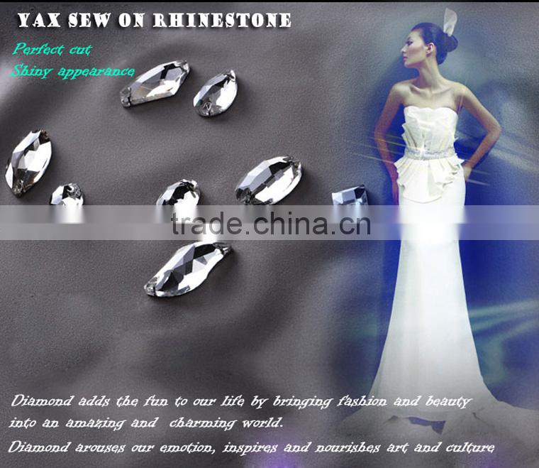 W0813 Wedding dress Crystal Ab rhinestone sew on,sew on ab crystal rhinestone,sew on crystal AB rhinestone