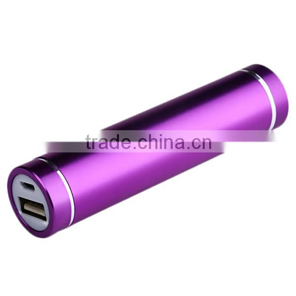 2015 wholesale Super High Quality promotion gift 2200mah Portable mobile Power Bank