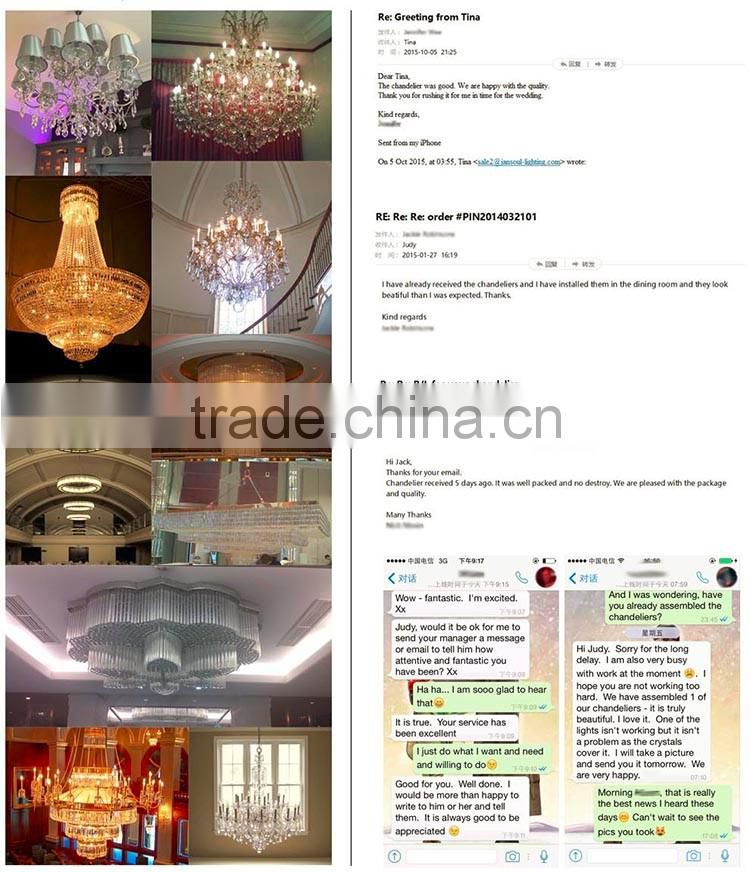Transparent glass base hanging cloth shade table lamp