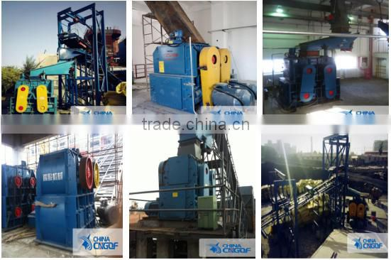 High quality new type four teeth roller crusher manufacturer with low cost
