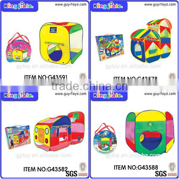 Hot selling kids ball shot play house tent