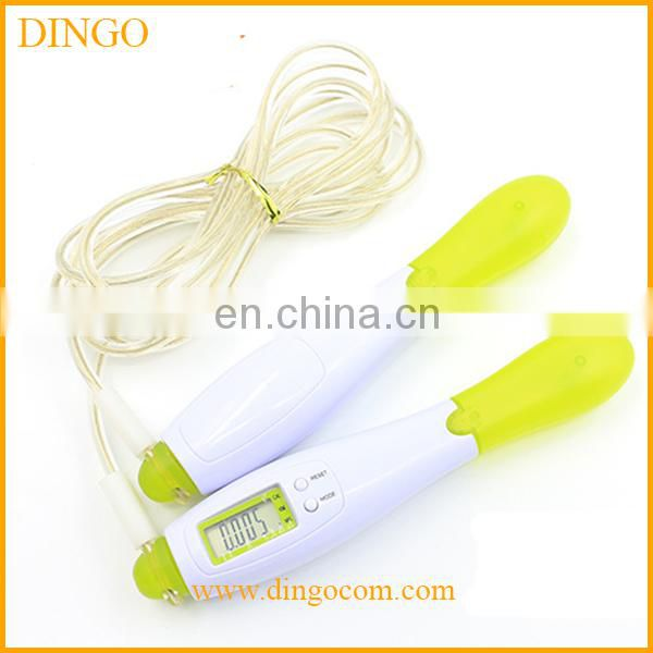New arrival OEM Fashion PVC skipping rope led/digital jump rope